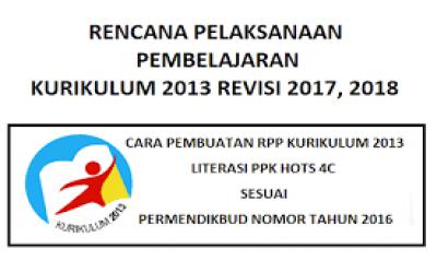 3 Model RPP dalam Kurikullum 2013
